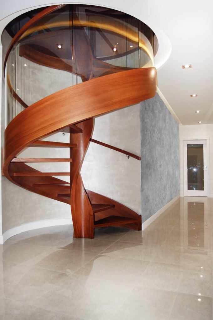 nowoczesne schody gięte częstochowa