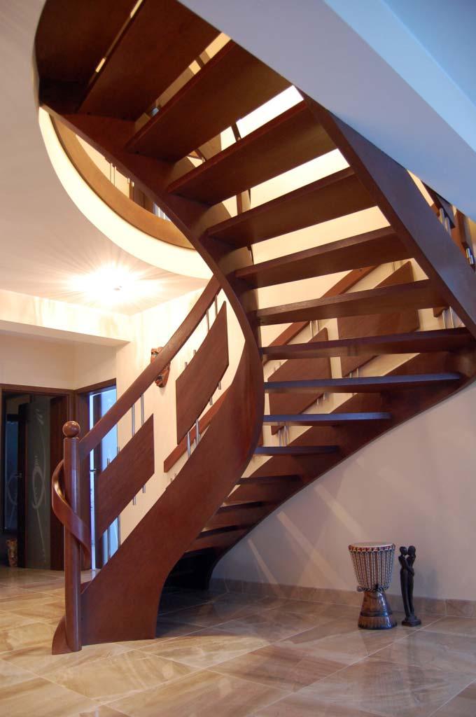 nowoczesne schody jednozabiegowe