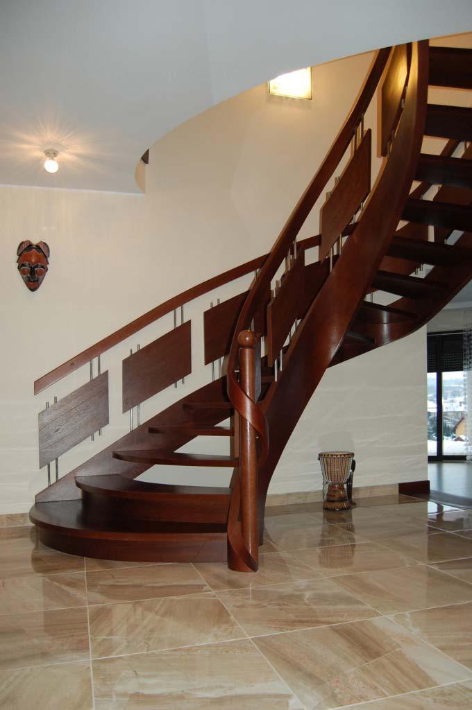 ekskluzywne schody jednozabiegowe