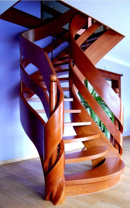 ekskluzywne schody drewniane prudlik