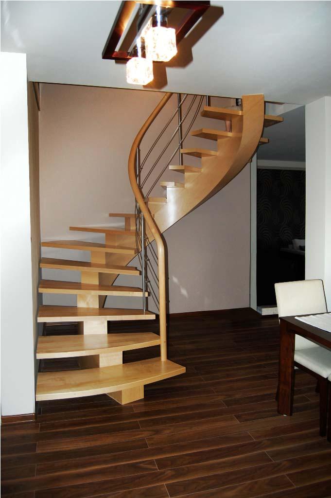 schody gięte drewniane 13