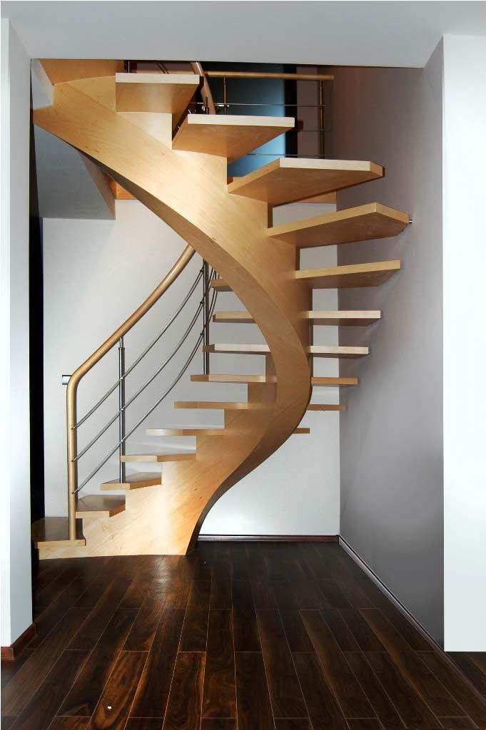 schody gięte drewniane 15