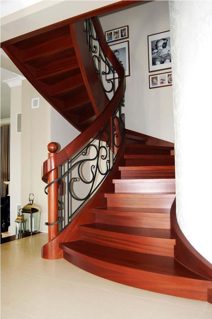 schody gięte drewniane 2
