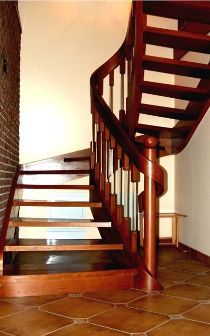 schody gięte drewniane wersja 8