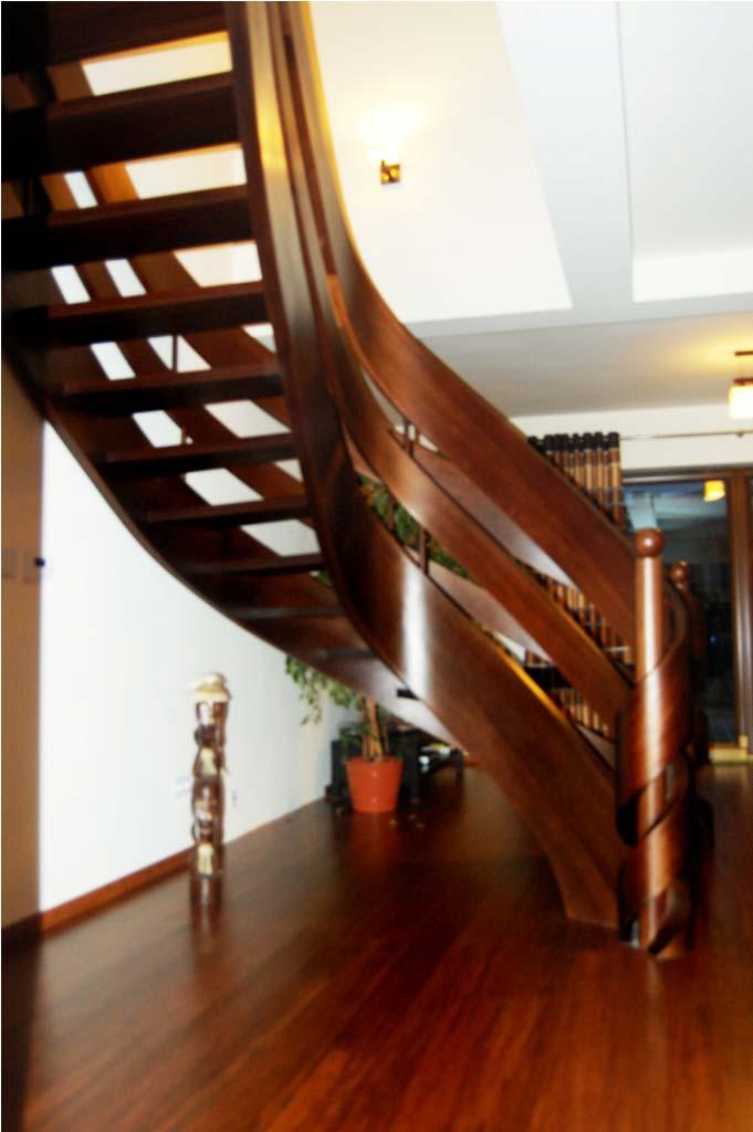 schody kręcone ażurowe