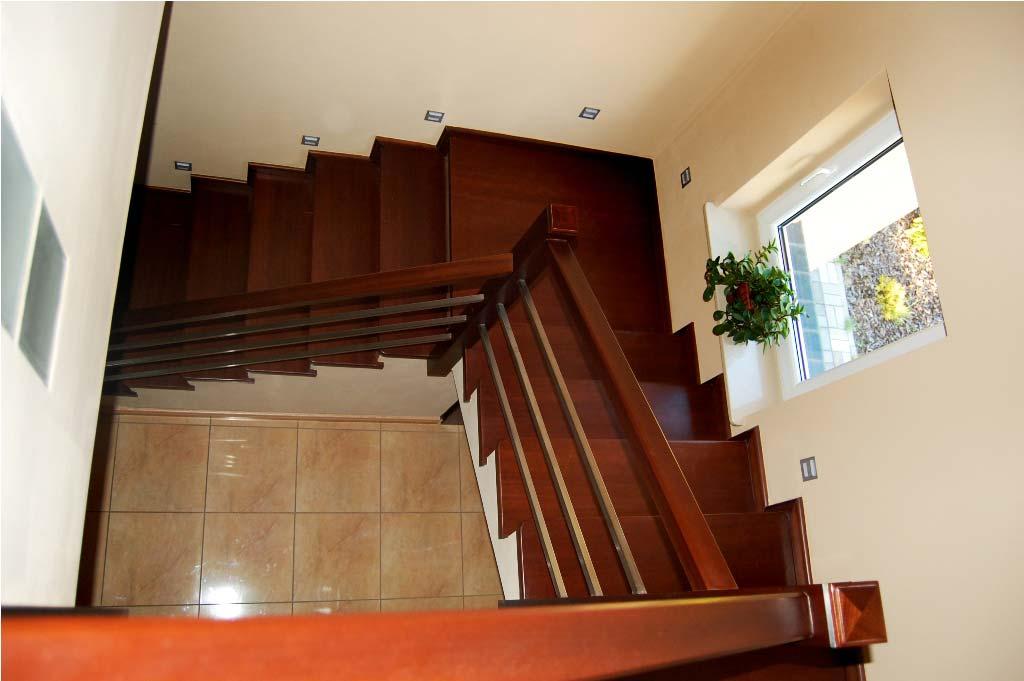 schody nowoczesne widok od góry