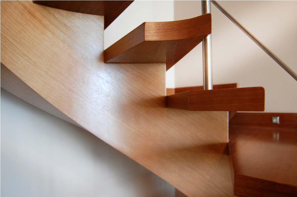 schody kręcone typu c