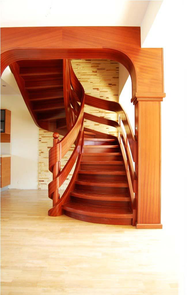 schody wstęgowe wewnętrzne
