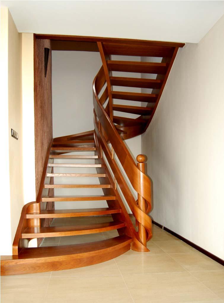 schody wstęgowe 8