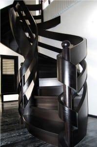 Nowoczesne schody wstęgowe