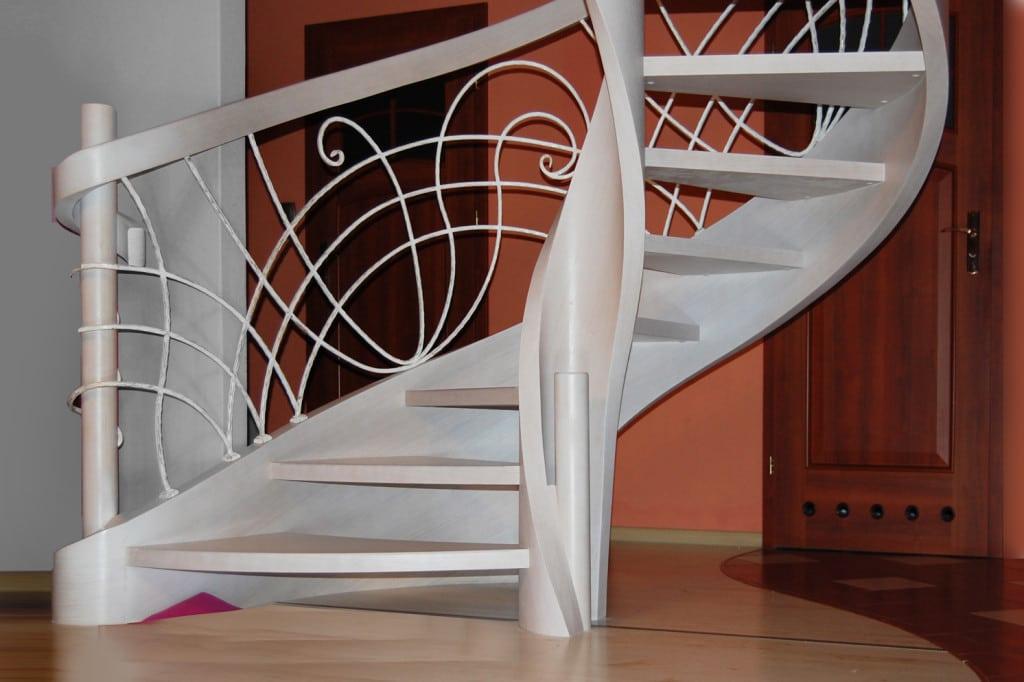 nowoczesne schody gięte 5
