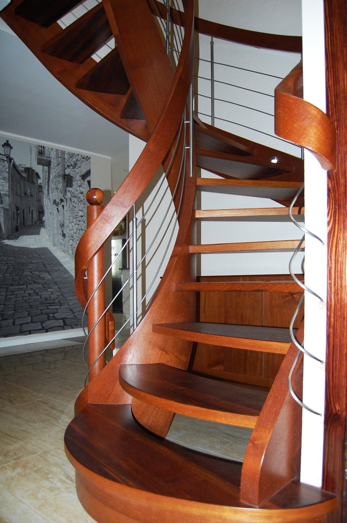 schody jednozabiegowe gięte 4