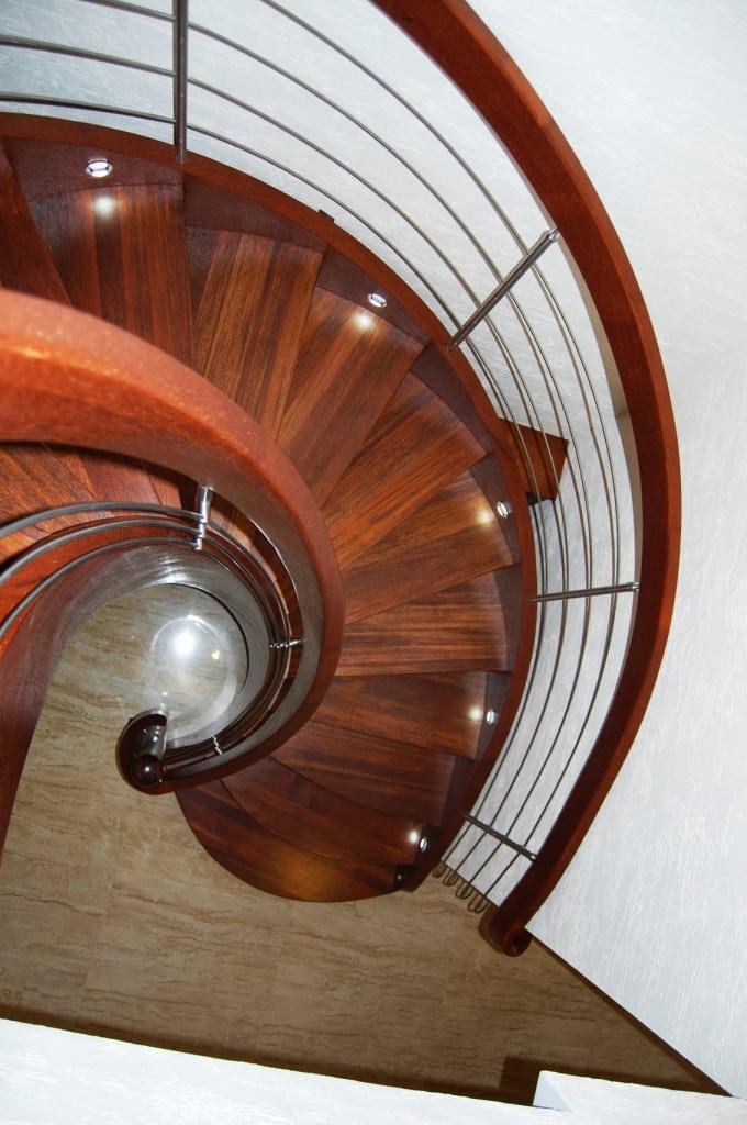 schody jednozabiegowe gięte 3