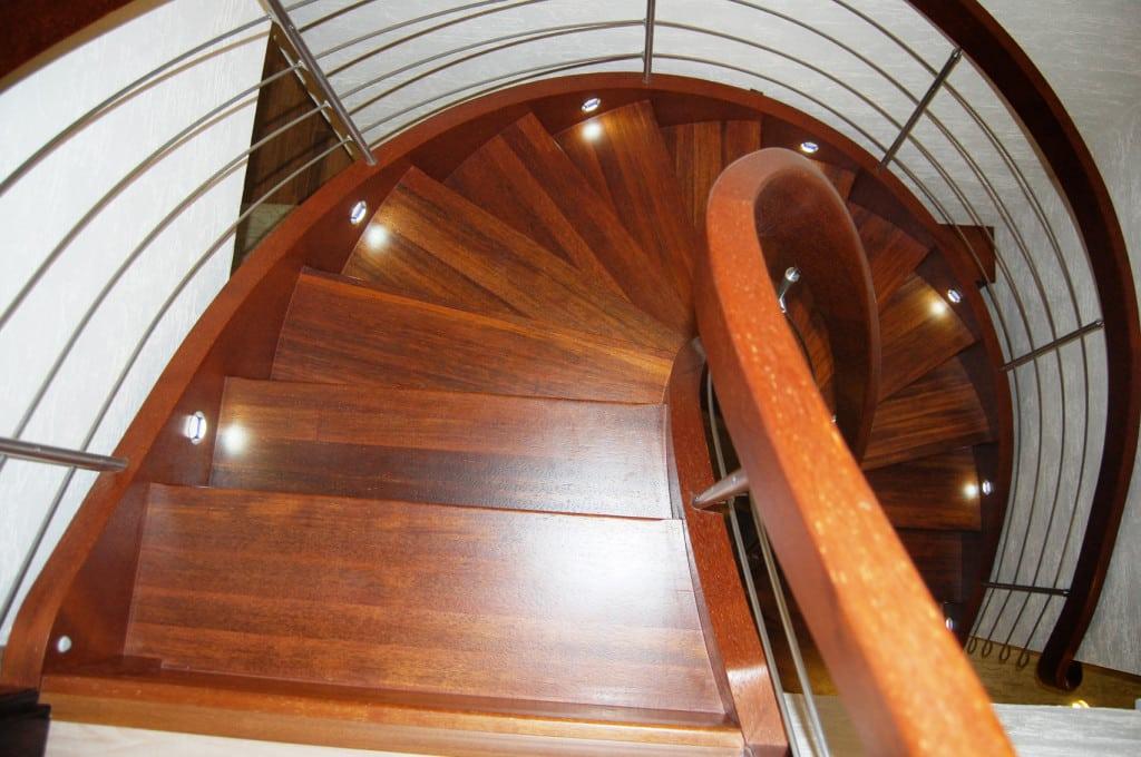 schody jednozabiegowe gięte 2