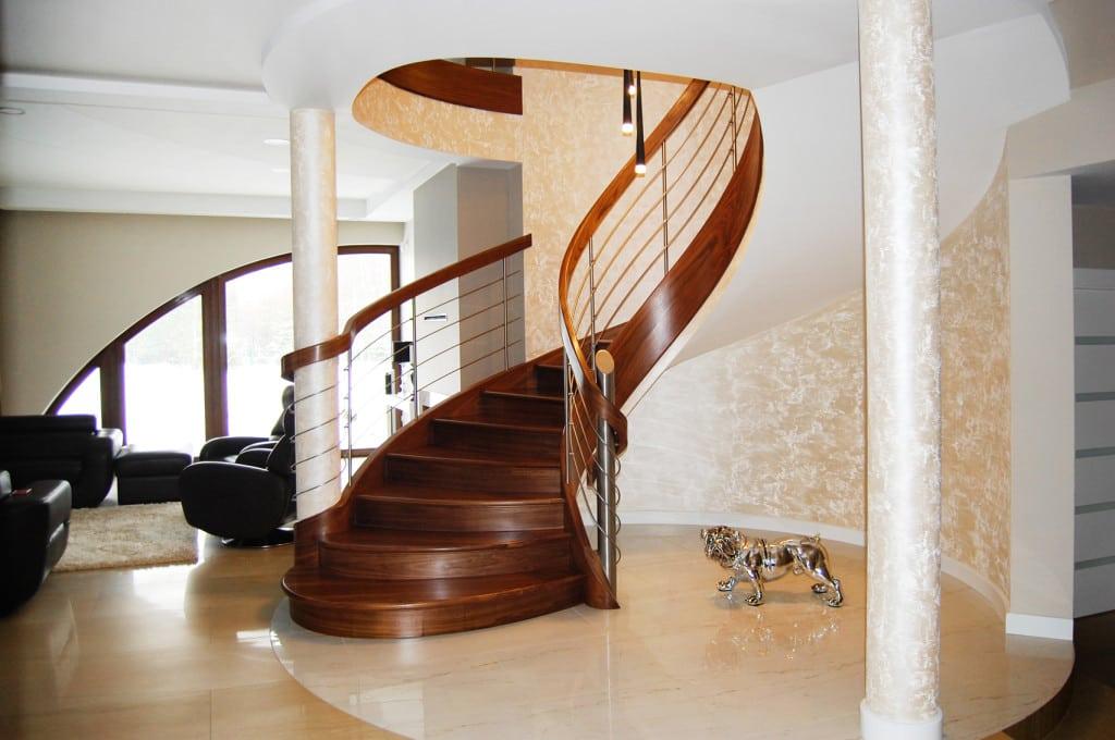 schody gięte drewniane 9