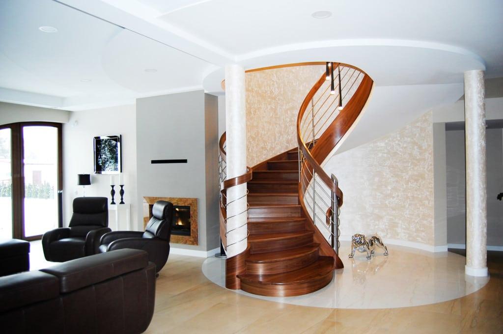 schody gięte drewniane 8