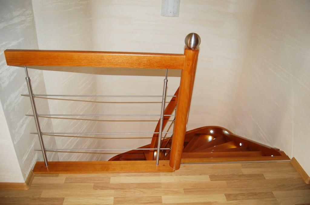schody drewniane gięte częstochowa 2