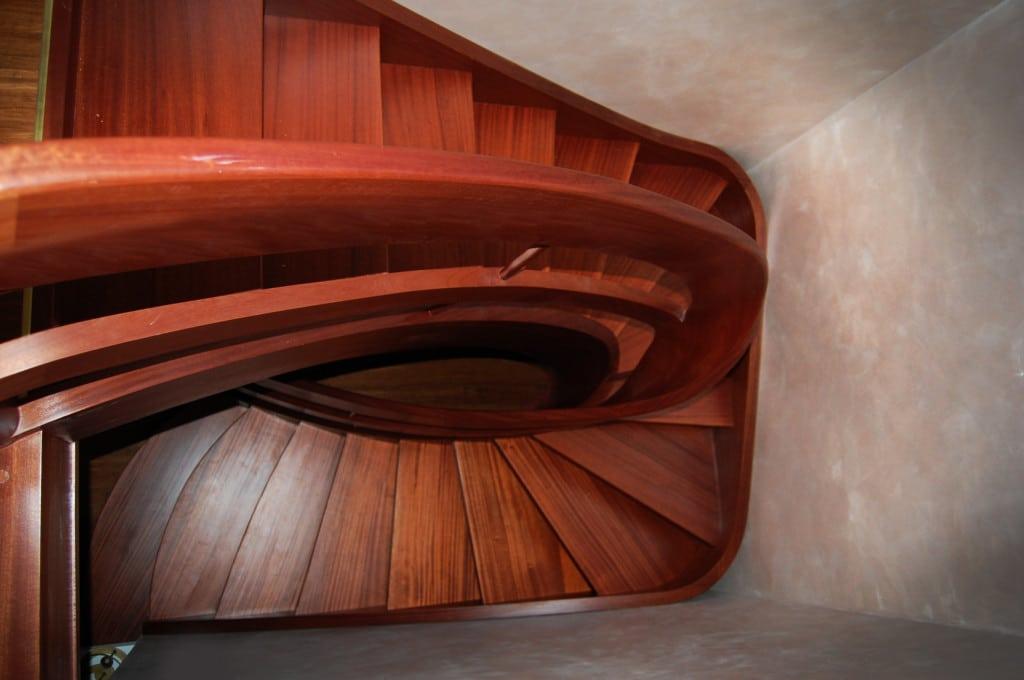 nowoczesne schody drewniane 2