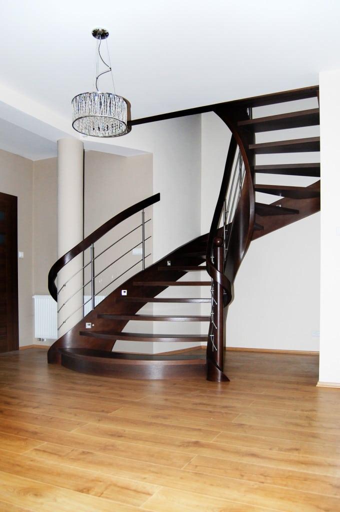 nowoczesne schody gięte 14