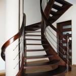 schody drewniane gięte 12