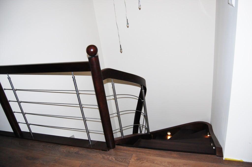 schody drewniane gięte 10